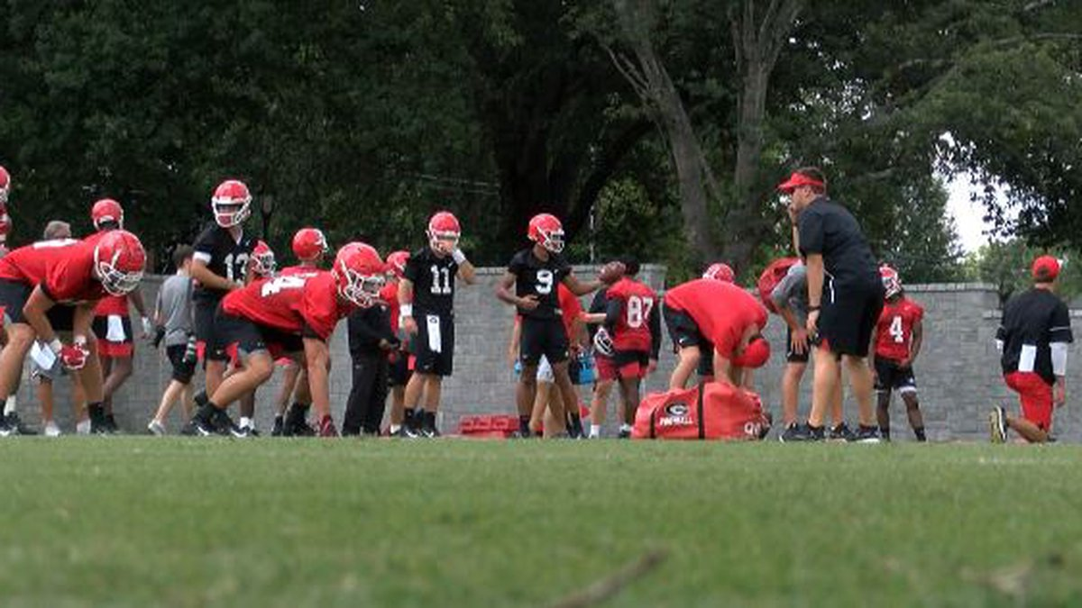 Georgia kicked off preseason practice Friday, just 29 days before the Dawgs open the season at...
