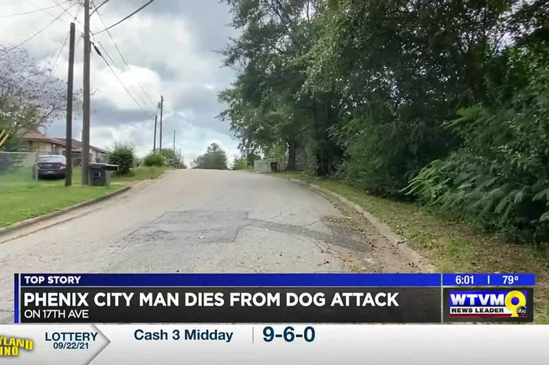 Phenix City man dies after dog attack