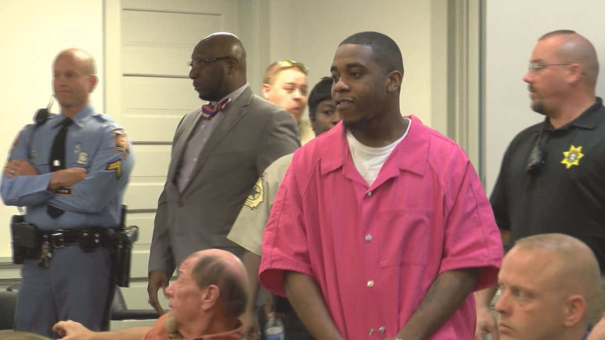 Nathaniel  Baker apologized to the Burch family in court in 2017.