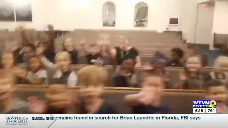Video of the 1st & 2nd graders at Grace Christian School