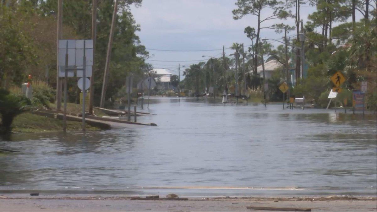 Many areas on Alabama's coast were flooded after Hurricane Sally made landfall.