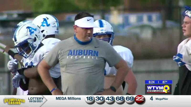 In the Huddle: Auburn High School Tigers