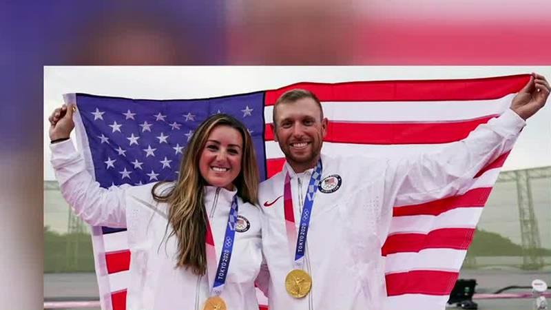 Phenix City woman wins gold in skeet shooting at Olympics