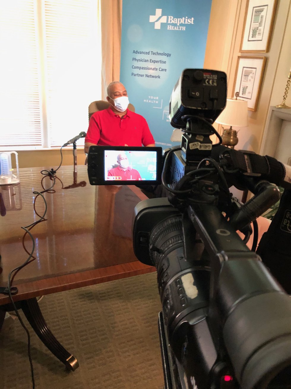 The first person in Alabama to test positive for coronavirus is recovered and ready to talk...