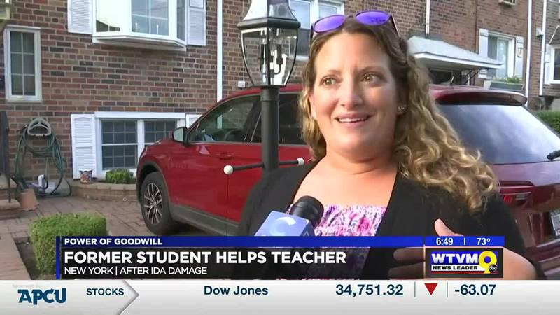 Power of Goodwill: Former student helps teacher