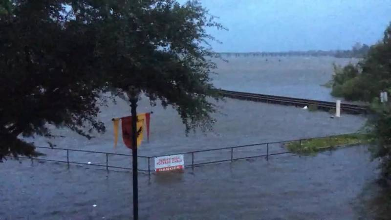 New Bern, NC has been the site of massive flooding from Hurricane Florence on Friday. (Source:...