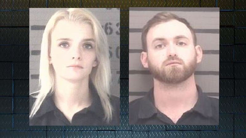 Destiny Winters, left, and Micahel Winters, right.