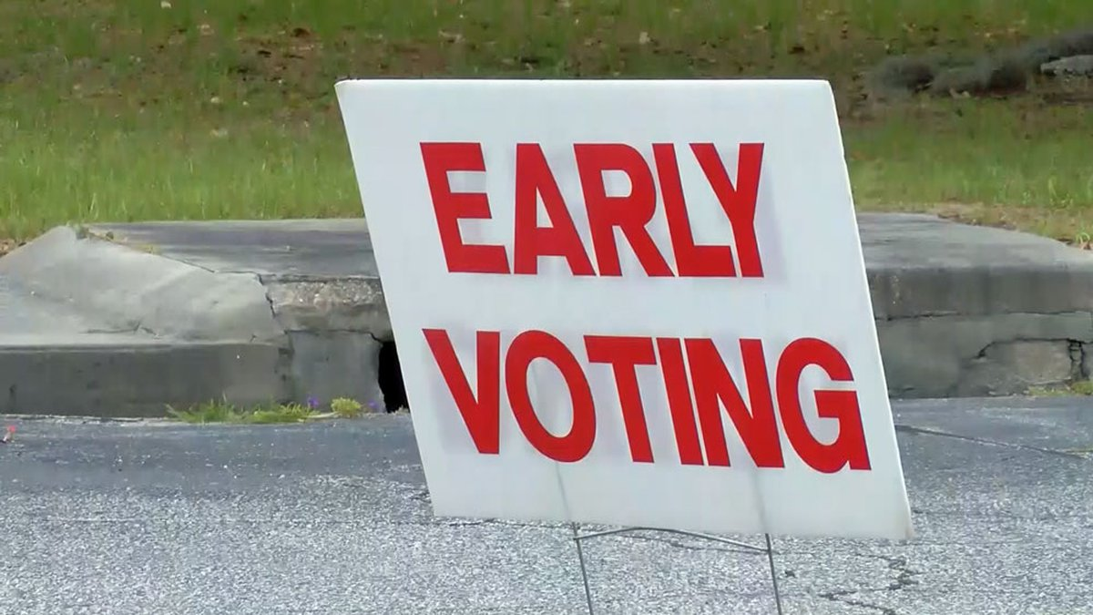 Early in-person voting starts Tuesday, Oct. 12, 2021 in Georgia.
