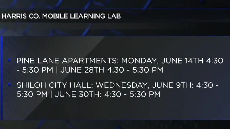 Harris County School District resumes operation of Mobile Learning Lab