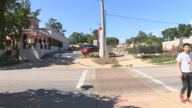 Around the end of August, Chick-Fil-A and Domino's on Magnolia Avenue in Auburn will be...