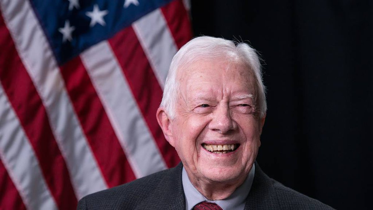 Jimmy Carter is celebrating his 95th birthday, becoming the first U.S. president to reach that...