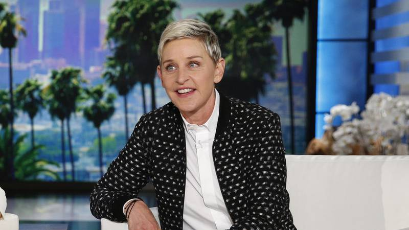 An audio problem that originated with the producers of the Ellen show's episode for today,...