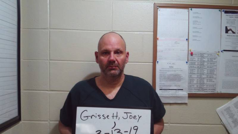 Joey Grissett charged with murder Ricky Brown