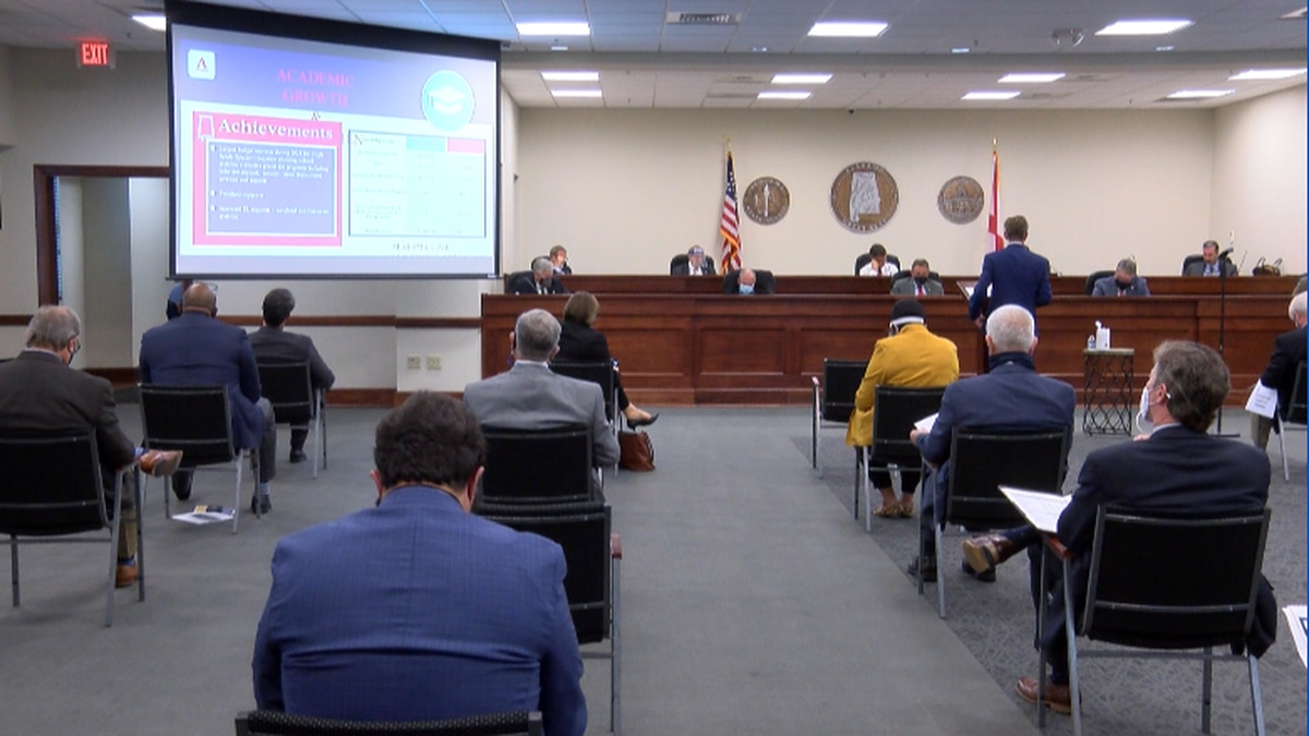 Education department presents budget request to lawmakers on Tuesday, January 26th.