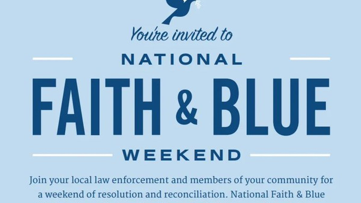 Columbus Police Department to celebrate Faith and Blue Weekend