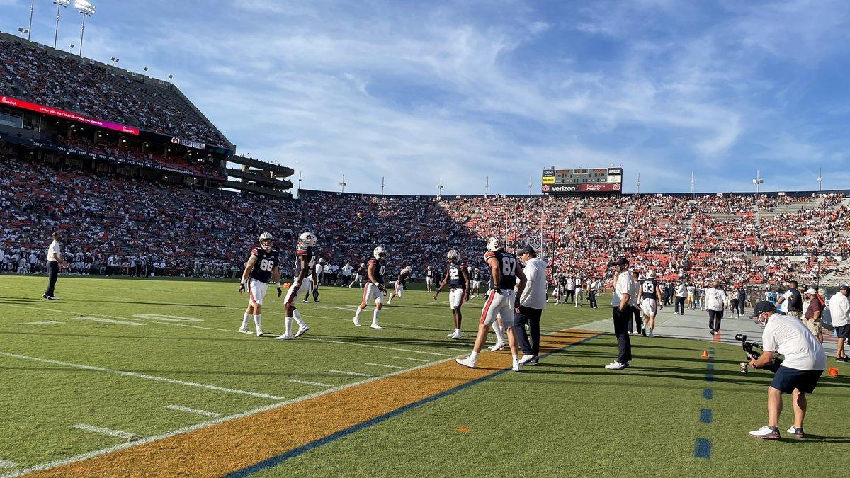 The Auburn Tigers took on the Akron Zips at Jordan-Hare stadium Saturday, Sept. 4, 2021.