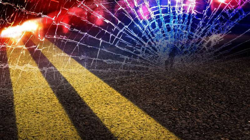 43-year-old Derrick Moore was pronounced dead after his vehicle flipped and landed off the...