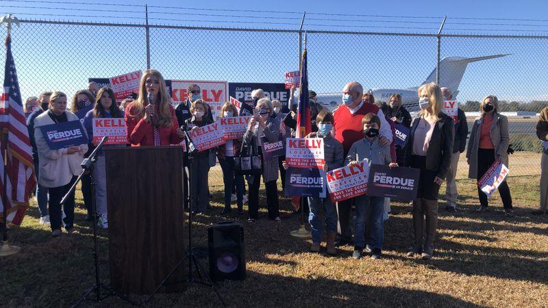 Sen. Loeffler shares final message to voters in Columbus ahead of runoff