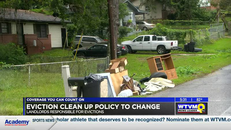 Columbus eviction clean up policy set to change