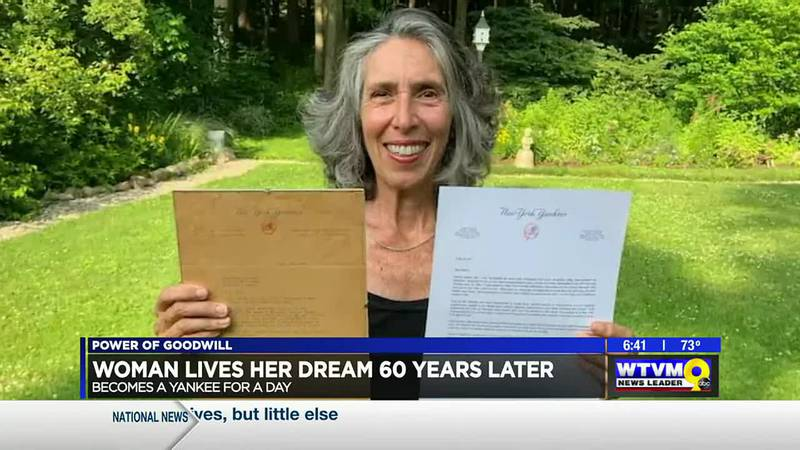 Power of Goodwill: Woman lives her dream 60 years later
