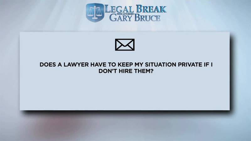 LEGAL BREAK - PRIVACY