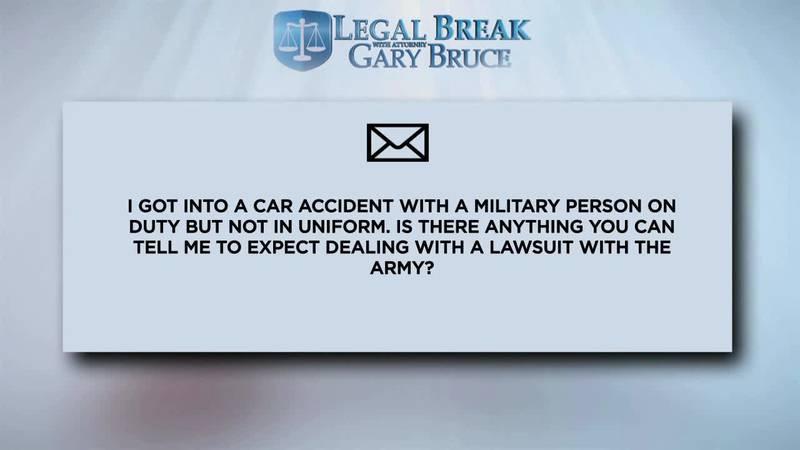LEGAL BREAK - CAR ACCIDENT