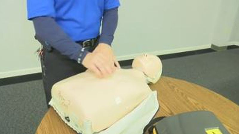 Medical professionals say performing CPR on someone who's unresponsive can double or triple...