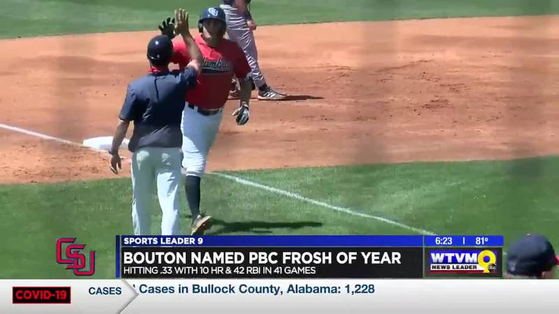 Bouton named PBC Freshman of the Year