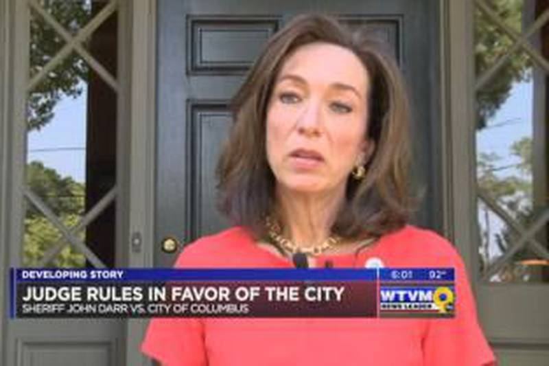 Columbus touting judges' ruling sheriff case a victory, plaintiffs disappointed