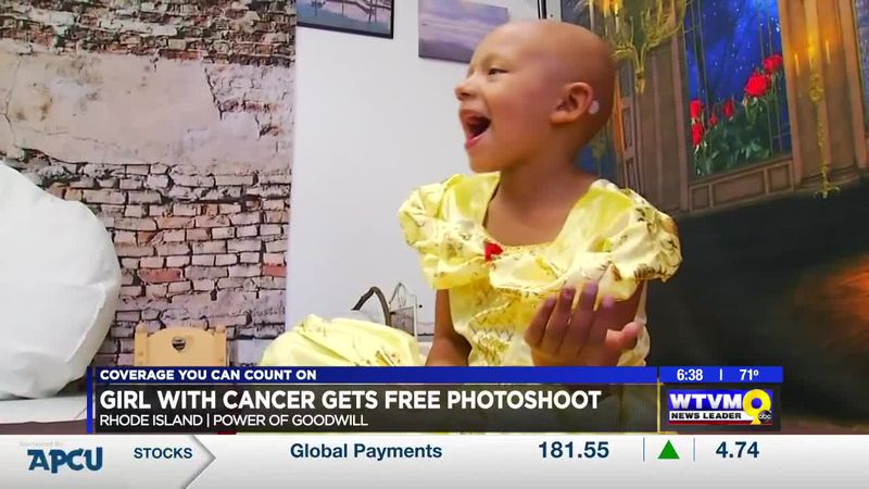 Power of Goodwill: Rhode Island girl with cancer gets photoshoot
