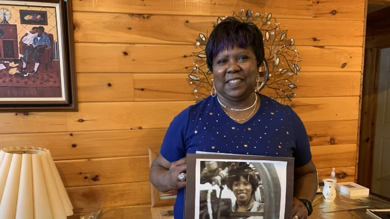 Armestine Graham became a photo lab specialist in the Air National Guard, responsible for...