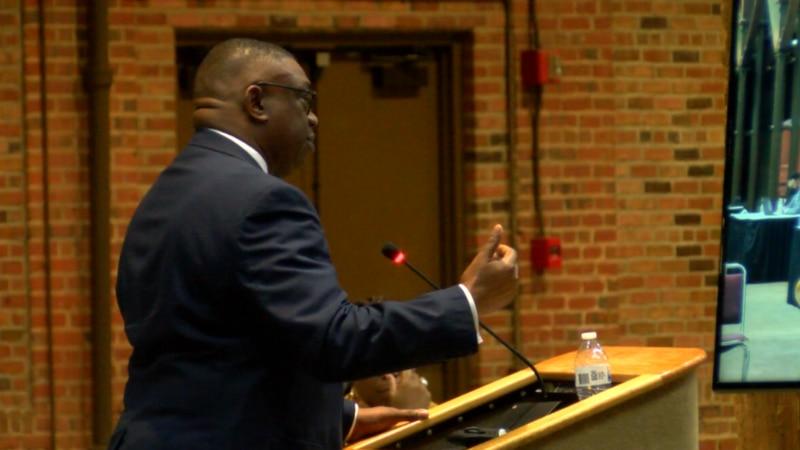 Sheriff Countryman addresses Columbus City Council Tues. night