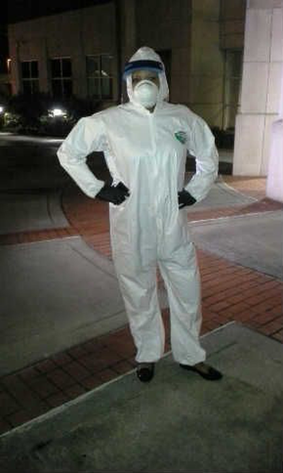 News Leader 9's Jenyne Donaldson was given a firsthand look inside CPD's Ebola training.