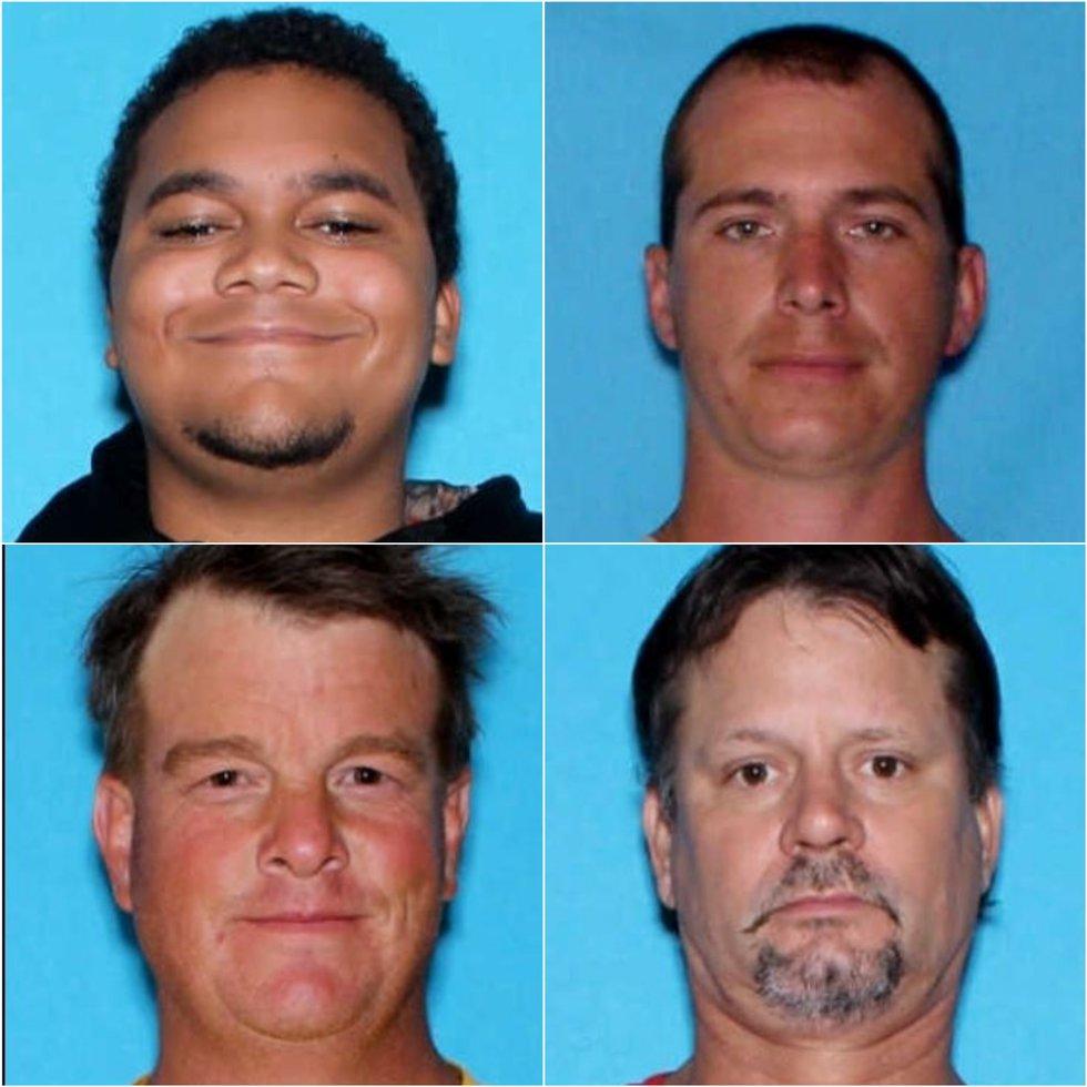 Opelika police arrest four men on multiple drug charges