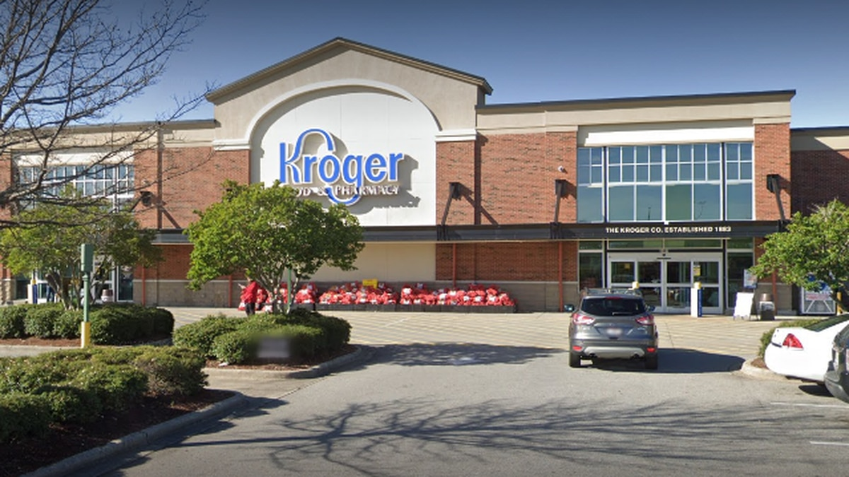Kroger's Opelika location at 2460 Enterprise Drive.