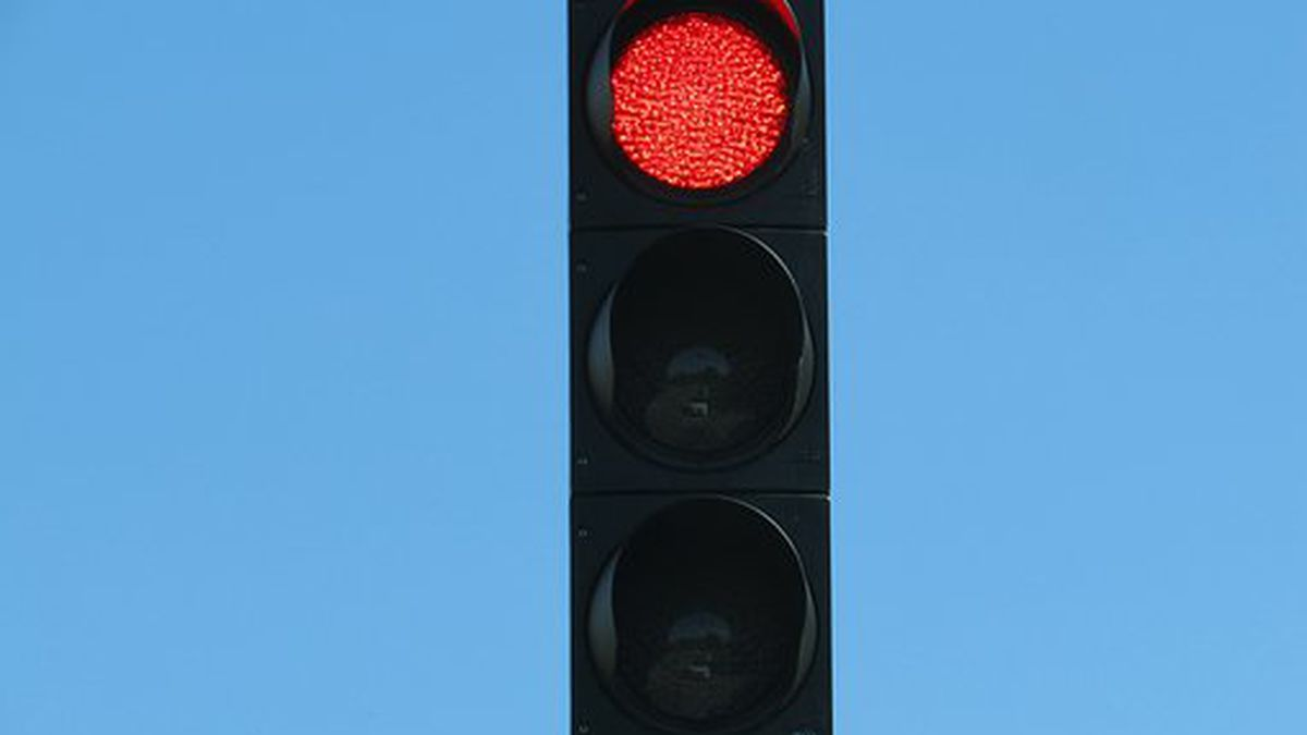 New traffic signals at the intersection of Route 13 and Old Illinois 13 will go active...