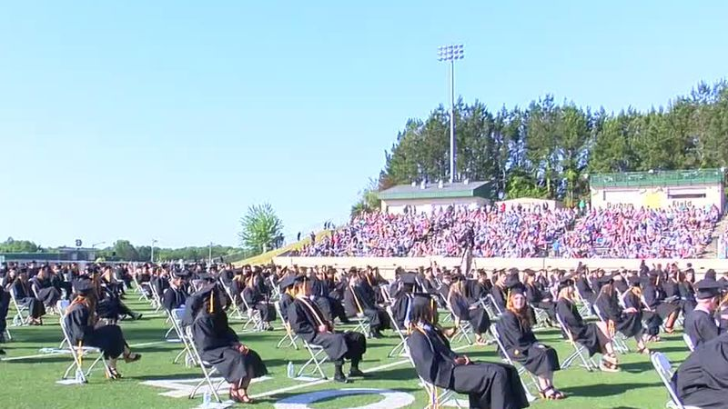 Harris County High School holds in-person graduation