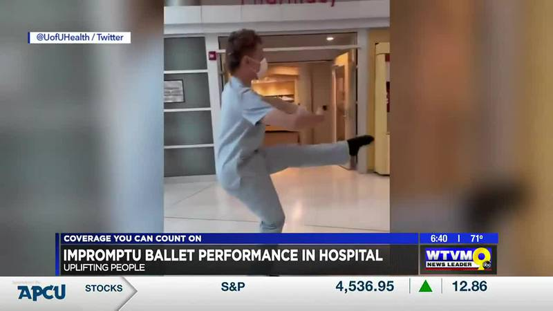 Power of Goodwill: Impromptu Dancing in Hospital