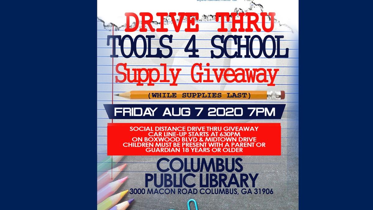 Drive Thru School Supply Giveaway