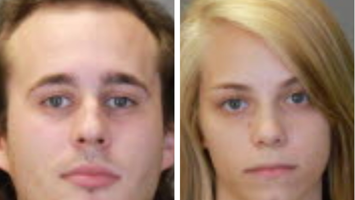 24- year-old Austin Pruitt and 22 year-old Desirae Prance were arrested on August 8. (Source:...