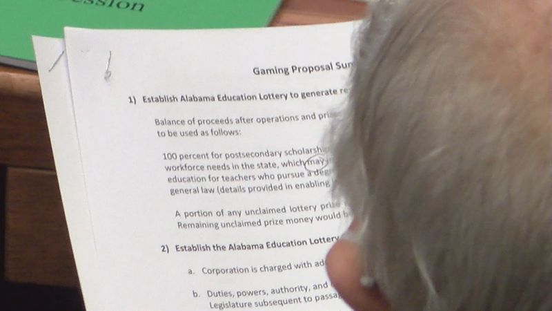 The Alabama Senate did not vote on a proposed gambling bill on Feb. 11, 2021.