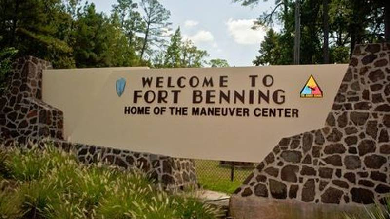 Fort Benning sign