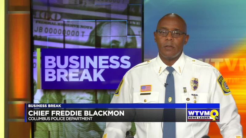 BUSINESS BREAK - GOODWILL SOUTHERN RIVERS/COLUMBUS POLICE DEPARTMENT