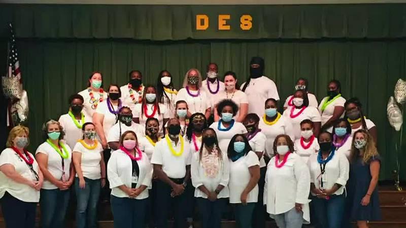 JD Davis Elementary School teacher dies after testing positive for COVID