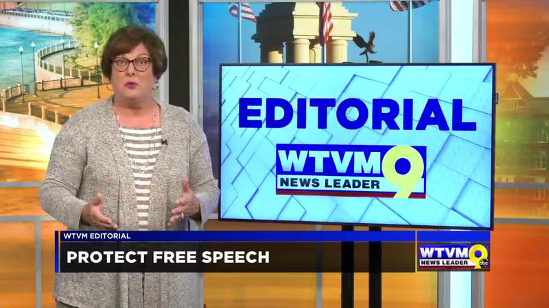 WTVM Editorial 1-28-21: Protect free speech