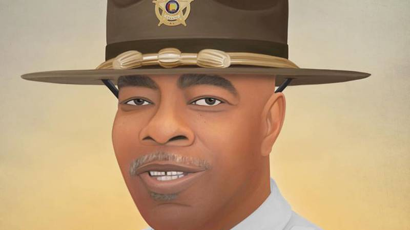 Philadephia artist Jonny Castro has drawn all sixth of the officers who've died in Alabama in...