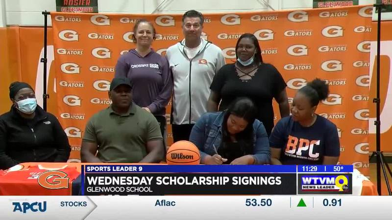 Wednesday was another busy day of college scholarship signings.