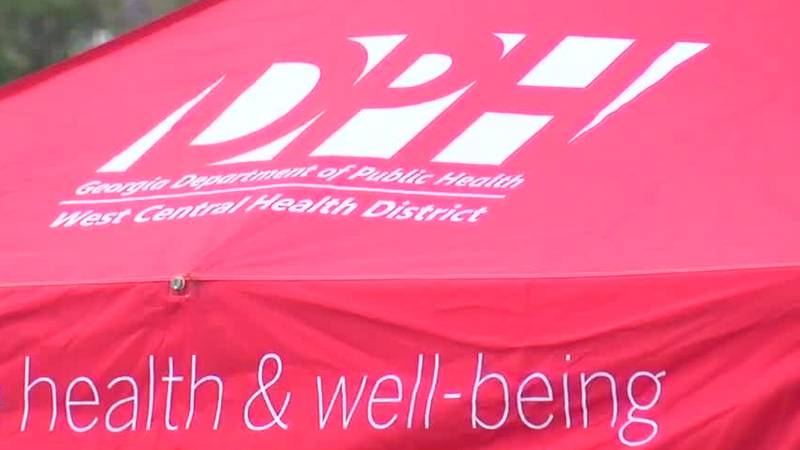 Columbus Health Department's COVID testing location, days to change