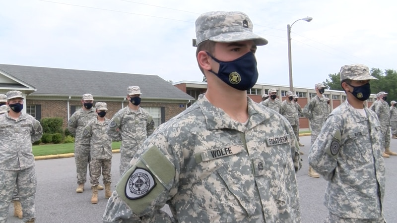 With a 300-acre facility and less than 100 cadets on campus, the staff said they have plenty of...