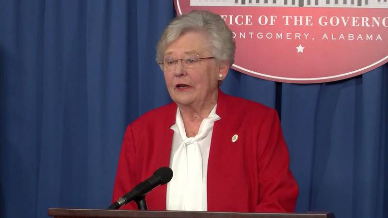 Gov. Kay Ivey announced Alabama's primary runoff election will be delayed as a coronavirus...